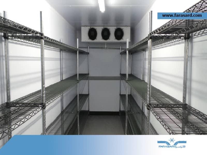 تجهیزات سردخانه ای شرکت ما بسیار با کیفیت هستند.